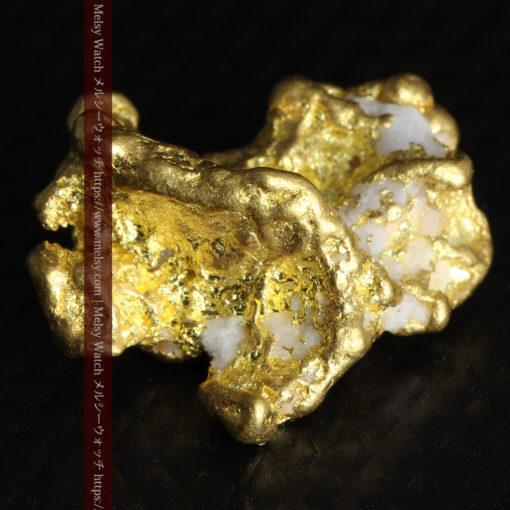 4.26gの明るい色合いと起伏の綺麗な自然金-G0350-7