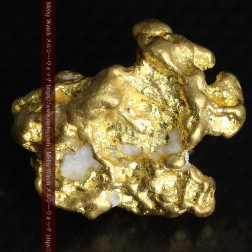 4.26gの明るい色合いと起伏の綺麗な自然金-G0350-9
