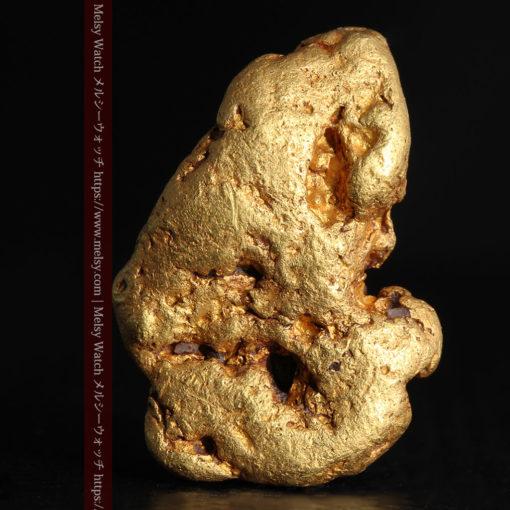 8.17gのビクトリア州産ならではの濃厚な色合いの自然金-G0351-1