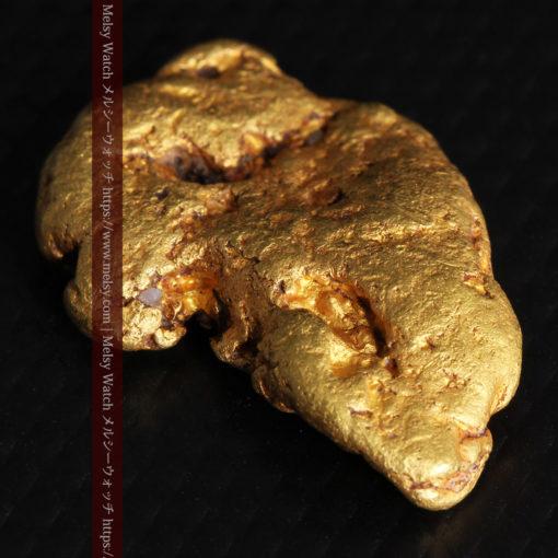 8.17gのビクトリア州産ならではの濃厚な色合いの自然金-G0351-10