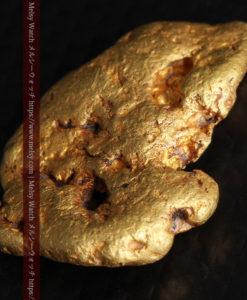 8.17gのビクトリア州産ならではの濃厚な色合いの自然金-G0351-11