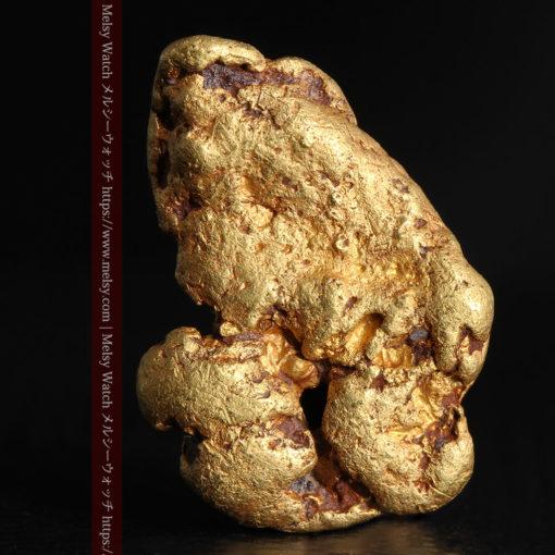 8.17gのビクトリア州産ならではの濃厚な色合いの自然金-G0351-2