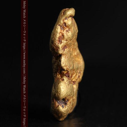 8.17gのビクトリア州産ならではの濃厚な色合いの自然金-G0351-4