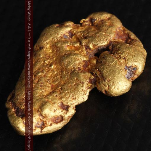 8.17gのビクトリア州産ならではの濃厚な色合いの自然金-G0351-5