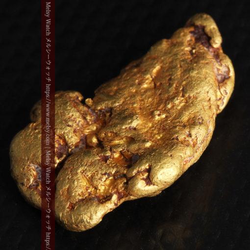 8.17gのビクトリア州産ならではの濃厚な色合いの自然金-G0351-6