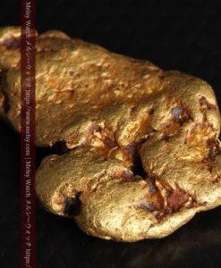 8.17gのビクトリア州産ならではの濃厚な色合いの自然金-G0351-7