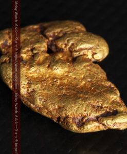 8.17gのビクトリア州産ならではの濃厚な色合いの自然金-G0351-8