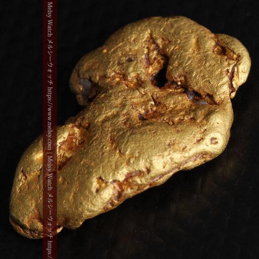 8.17gのビクトリア州産ならではの濃厚な色合いの自然金-G0351-9
