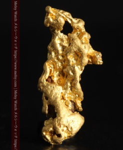 1.67gの天然ジュエリーのような美しい姿の自然金-G0358-1