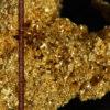 3.60gの砂金の集まりのような非常に微細・繊細な自然金-G0361-1