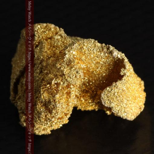 3.60gの砂金の集まりのような非常に微細・繊細な自然金-G0361-10