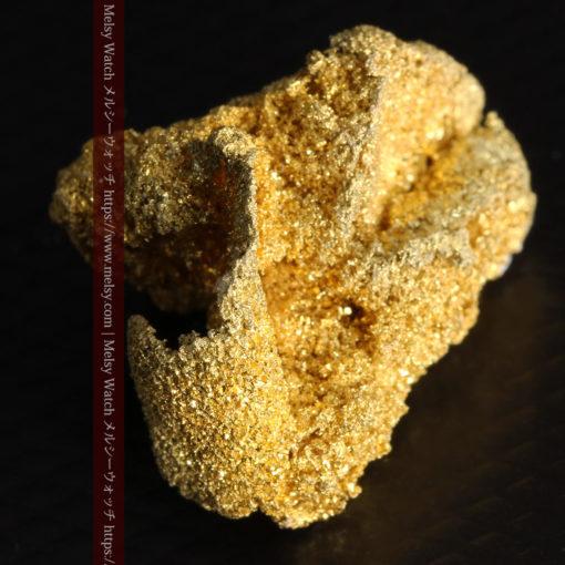 3.60gの砂金の集まりのような非常に微細・繊細な自然金-G0361-11