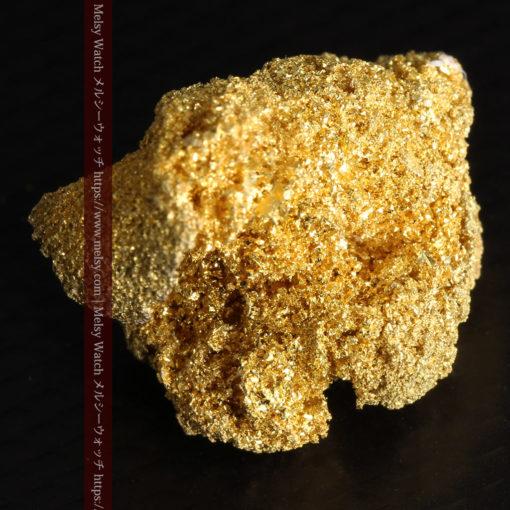 3.60gの砂金の集まりのような非常に微細・繊細な自然金-G0361-12