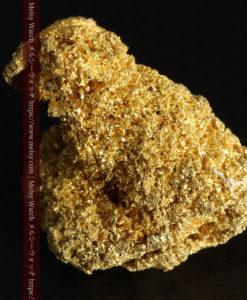 3.60gの砂金の集まりのような非常に微細・繊細な自然金-G0361-13