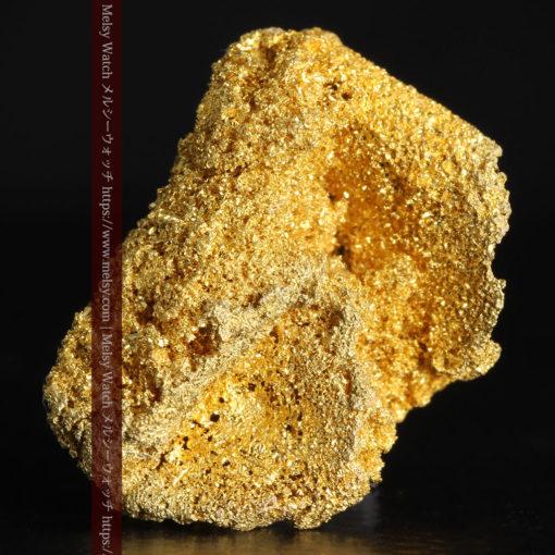3.60gの砂金の集まりのような非常に微細・繊細な自然金-G0361-4