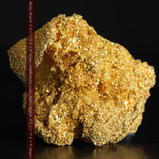 3.60gの砂金の集まりのような非常に微細・繊細な自然金-G0361-5