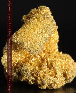 3.60gの砂金の集まりのような非常に微細・繊細な自然金-G0361-6