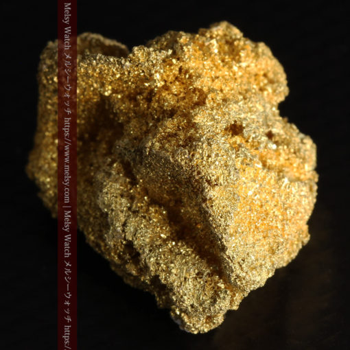 3.60gの砂金の集まりのような非常に微細・繊細な自然金-G0361-8