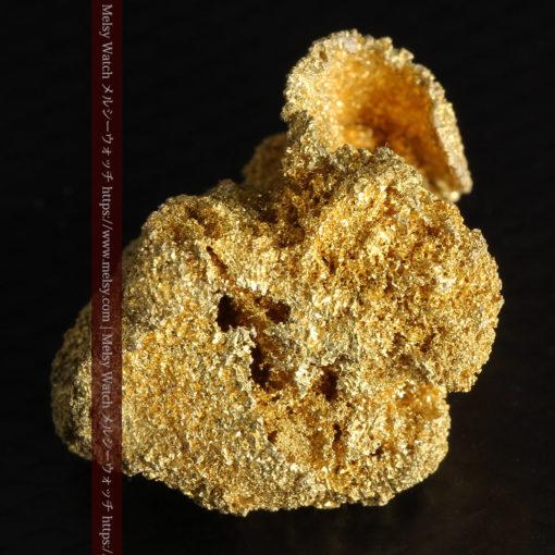3.60gの砂金の集まりのような非常に微細・繊細な自然金-G0361-9