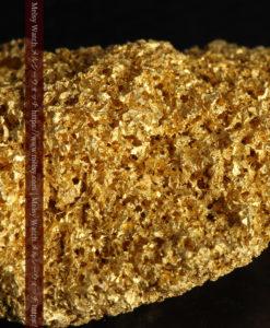 【レア物】5.5gの繊細な網目状に連なる微細な自然金-G0362-1