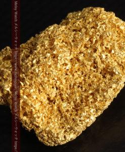 【レア物】5.5gの繊細な網目状に連なる微細な自然金-G0362-10
