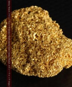 【レア物】5.5gの繊細な網目状に連なる微細な自然金-G0362-11