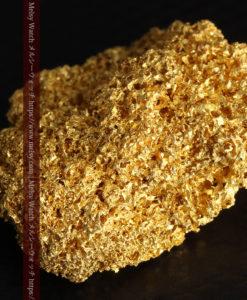【レア物】5.5gの繊細な網目状に連なる微細な自然金-G0362-12