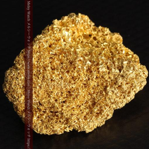 【レア物】5.5gの繊細な網目状に連なる微細な自然金-G0362-14