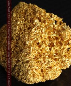 【レア物】5.5gの繊細な網目状に連なる微細な自然金-G0362-15