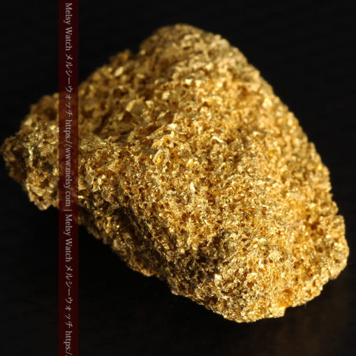 【レア物】5.5gの繊細な網目状に連なる微細な自然金-G0362-16