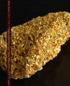 【レア物】5.5gの繊細な網目状に連なる微細な自然金-G0362-17