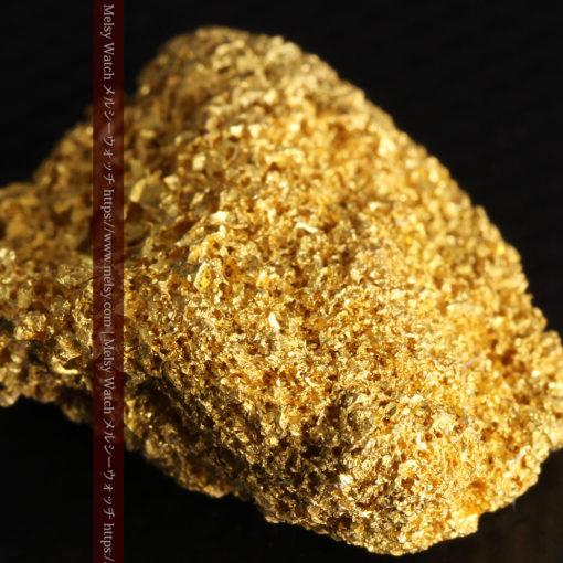 【レア物】5.5gの繊細な網目状に連なる微細な自然金-G0362-2