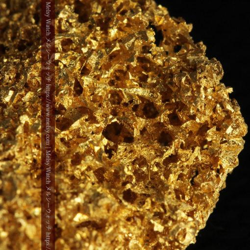 【レア物】5.5gの繊細な網目状に連なる微細な自然金-G0362-4