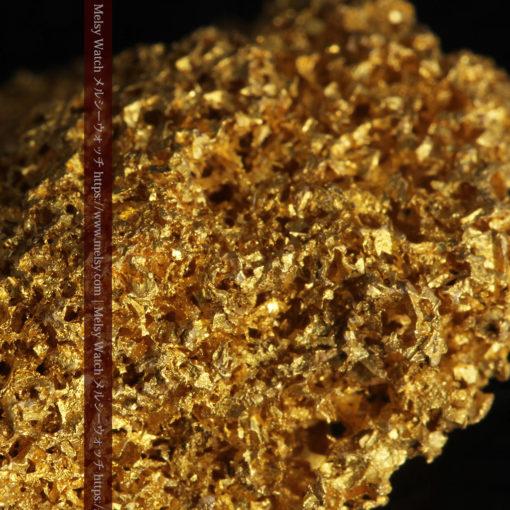 【レア物】5.5gの繊細な網目状に連なる微細な自然金-G0362-5