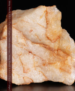26.0gの大きな石英と自然金の粒-G0363-5