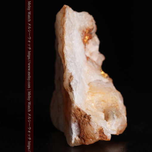 26.0gの大きな石英と自然金の粒-G0363-7