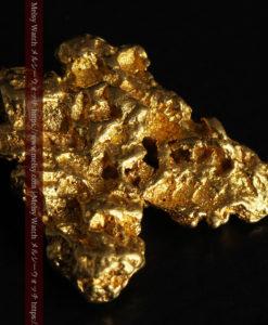 6.73gの羽を広げる蝶のような形の綺麗な自然金-G0364-9