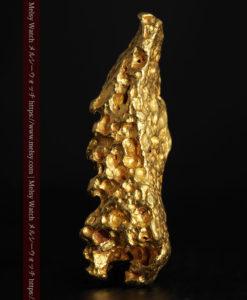 6.89gの鏃・槍の穂先のような形をした自然金-G0377-1