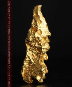 6.89gの鏃・槍の穂先のような形をした自然金-G0377-2