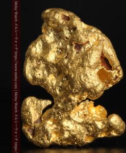 4.83gのキャラクターのような愛嬌ある形をした自然金-G0378-1