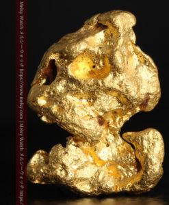 4.83gのキャラクターのような愛嬌ある形をした自然金-G0378-2