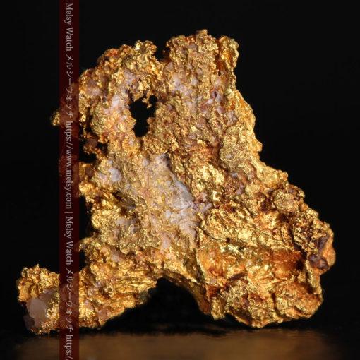 2.17gの綺麗な面を楽しめる自然金-G0382-1
