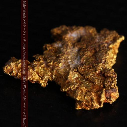 2.17gの綺麗な面を楽しめる自然金-G0382-10