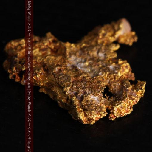 2.17gの綺麗な面を楽しめる自然金-G0382-12