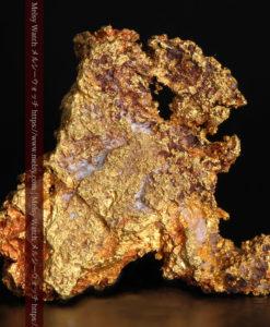 2.17gの綺麗な面を楽しめる自然金-G0382-2