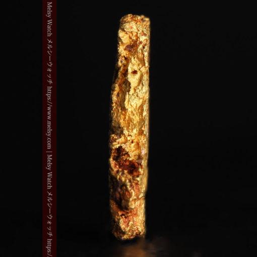 2.17gの綺麗な面を楽しめる自然金-G0382-3