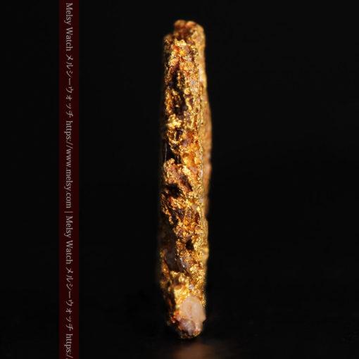 2.17gの綺麗な面を楽しめる自然金-G0382-4