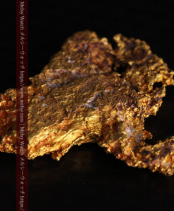 2.17gの綺麗な面を楽しめる自然金-G0382-5