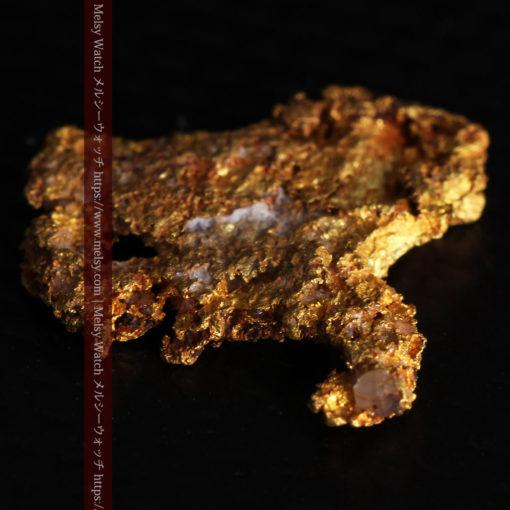 2.17gの綺麗な面を楽しめる自然金-G0382-9