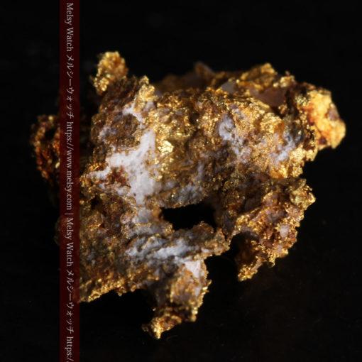 1.38gの小さいながらも立体感ある自然金-G0383-10